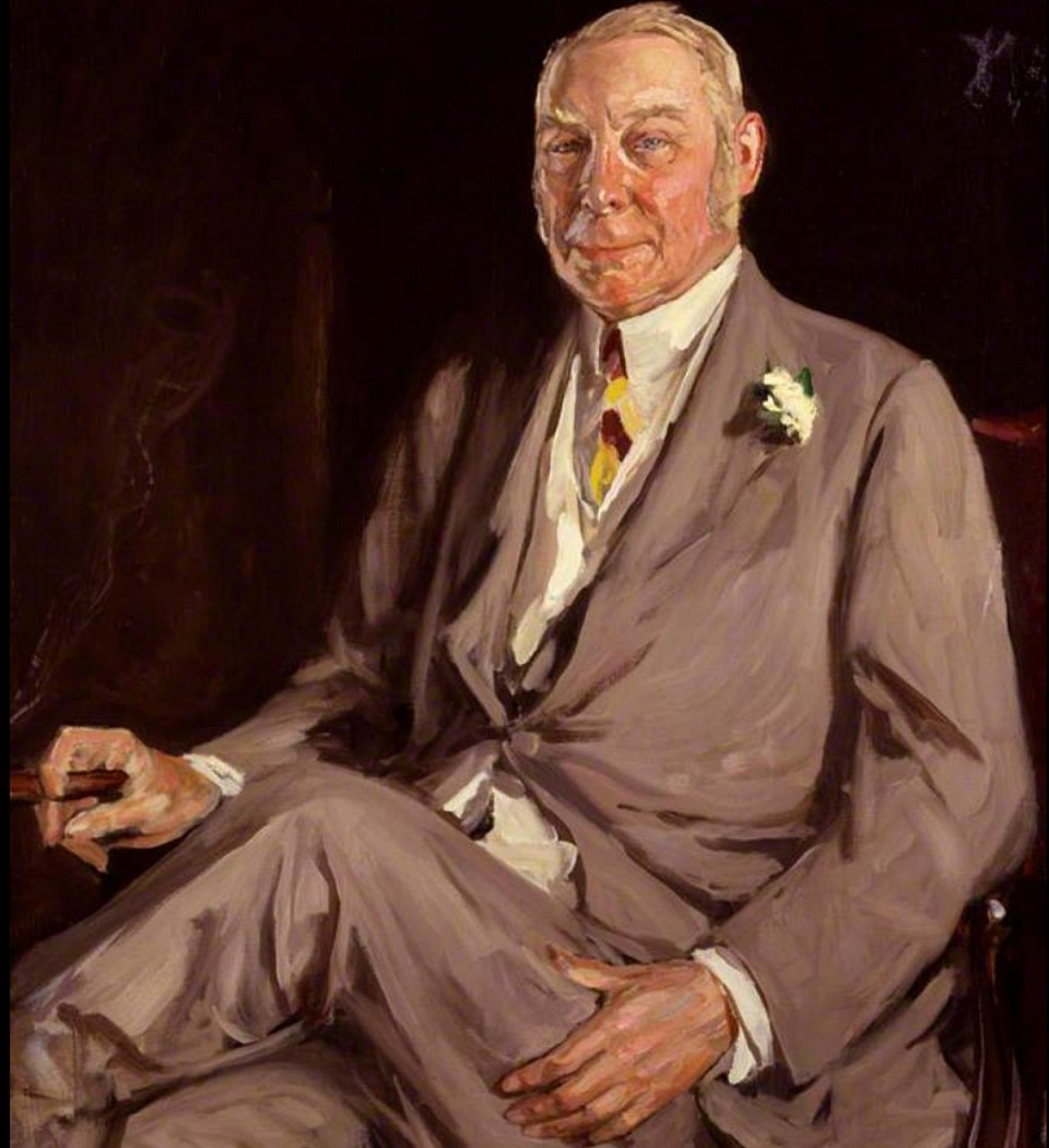 Photo: Hugh Lowther, 5th Earl of Lonsdale